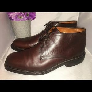 Mens Cole Haan Chukka Boots Brown Leather